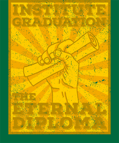 Institute Graduation LDS Shirt