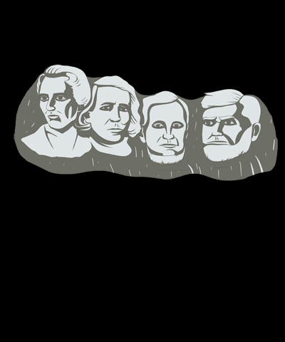 Mormon Mount Rushmore Funny LDS Shirt