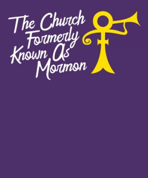 Prince funny mormon shirt