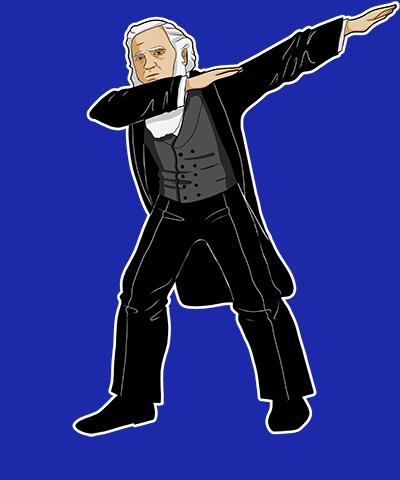 Dabbing Brigham Young Funny LDS Shirt