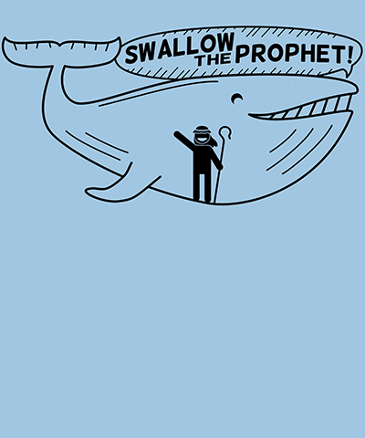 Swallow the Prophet Funny LDS shirt for primary