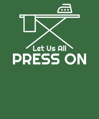 Press On Funny LDS Pun Tee