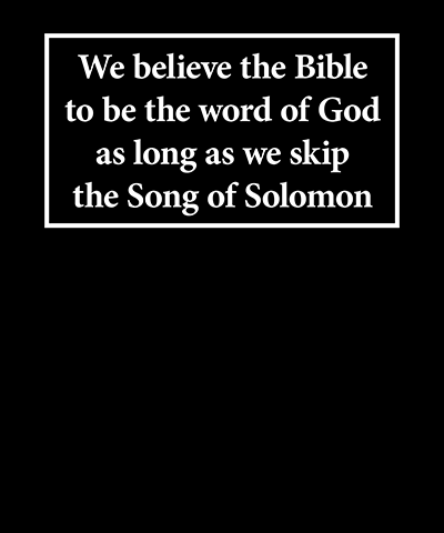 Song of Solomon Funny LDS Shirt