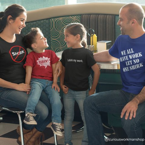 Shirk Funny LDS Family Tees